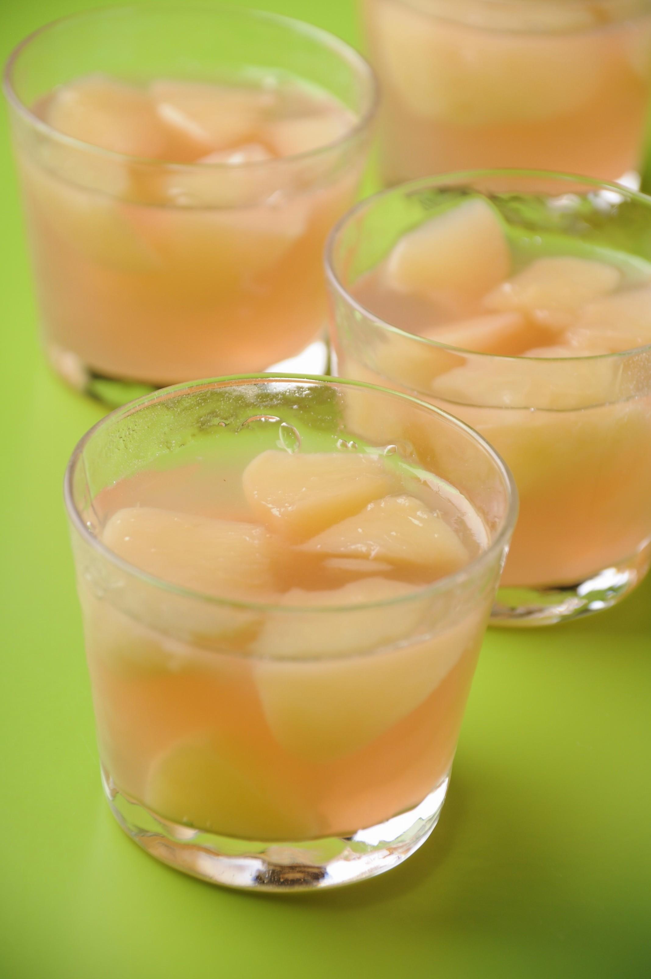 桃のゼリー